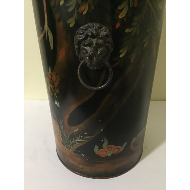 Metal Mario Lopez Torres Style Monkey Lion Umbrella Stand For Sale - Image 7 of 13