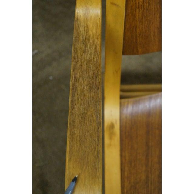 Peter Hvidt & Orla Molgaard for Fritz Hansen Axe Lounge Chair For Sale - Image 5 of 10