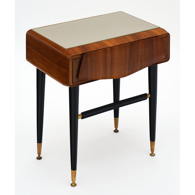 Mid-Century Modern Italian Mid-Century Side Tables - a Pair For Sale - Image 3 of 12
