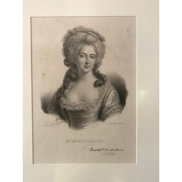 9 French Prints c. 1800. French Revolution characters Exquisitely Restored. They have antiglare museum glass. Bought them...