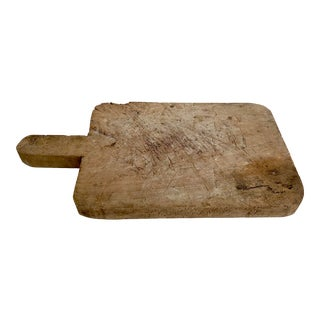 Rustic Turkish Breadboard For Sale