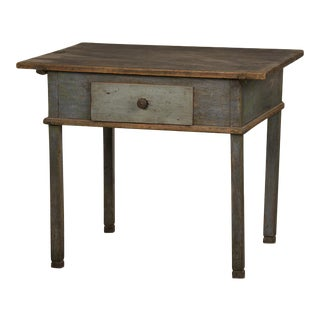 Vintage Original Finish German Workbench or Desk, C. 1790 For Sale