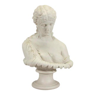 Copeland Attributed Parian Bust of Clytie