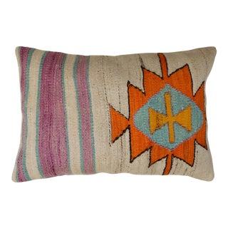 Sunshine Turkish Kilim Pillow For Sale