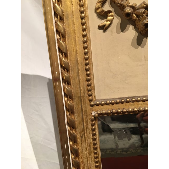 Late 19th Century Louis XVI Style Mirror For Sale - Image 5 of 9