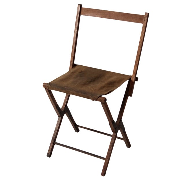 Vintage American Folding Camp Chair - Image 1 of 7