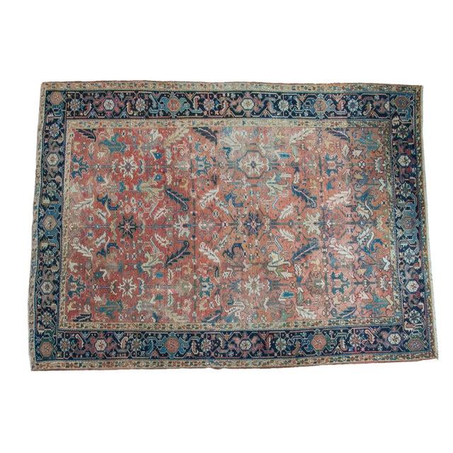 "Vintage Heriz Carpet - 8'3"" X 11'3"" - Image 1 of 10"