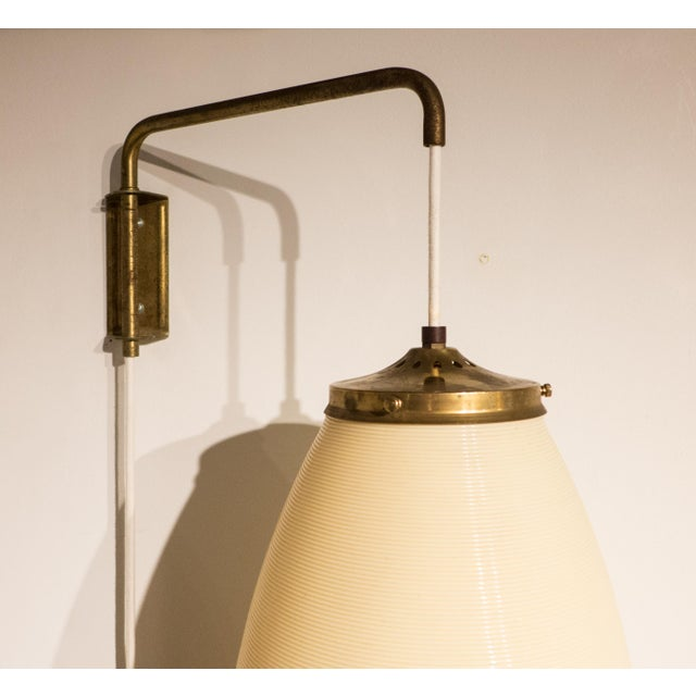 Rotoflex Adjustable Wall-Hanging Lamp For Sale - Image 4 of 11