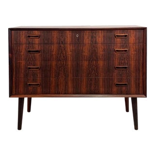 Vintage Danish Rosewood Dresser For Sale