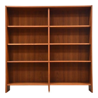 Danish Modern Teak Bookcase For Sale