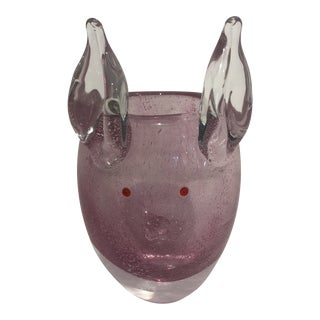 Murano Pig For Sale