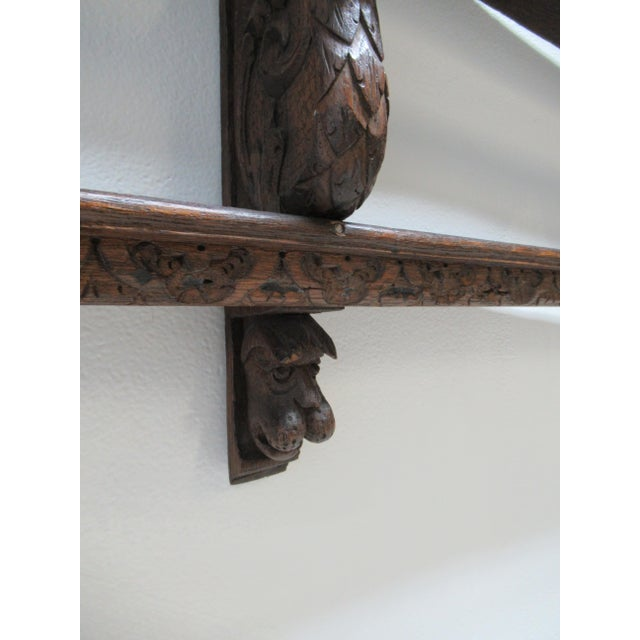 Italian Figural Carved Hand Plate Rack For Sale - Image 10 of 12