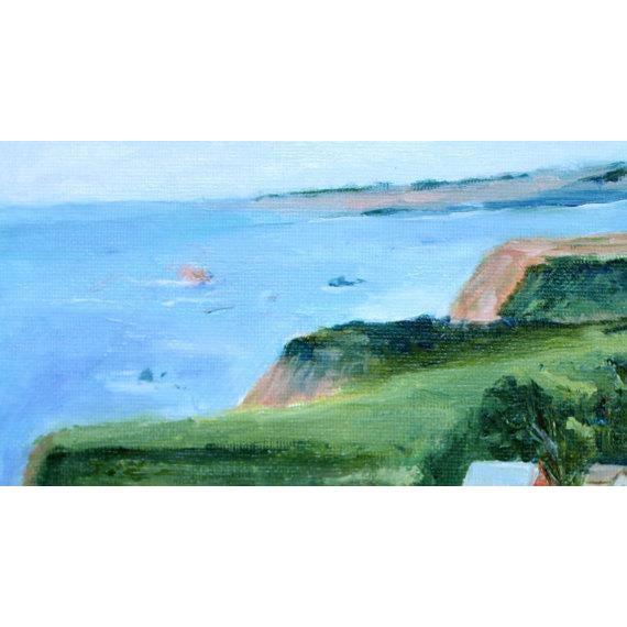 Irish Beach Barn Highway One Painting For Sale - Image 4 of 7