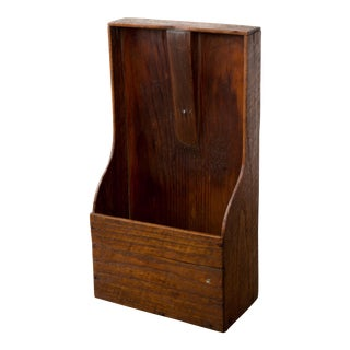 19th Century Antique Pine Shelf For Sale