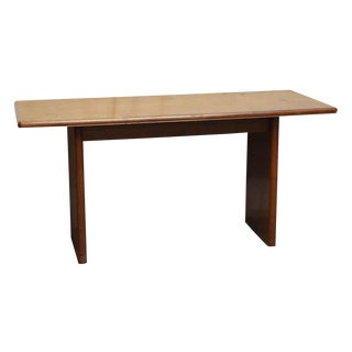 Danish Modern Wooden Conference Table