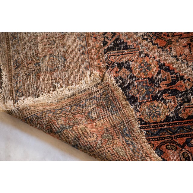 "Antique Distressed Malayer Rug - 3'4"" X 6'2"" - Image 3 of 7"