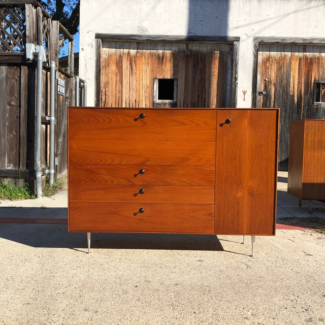 1960s Mid Century Modern George Nelson Herman Miller Thin Edge Secretary Desk For Sale - Image 13 of 13
