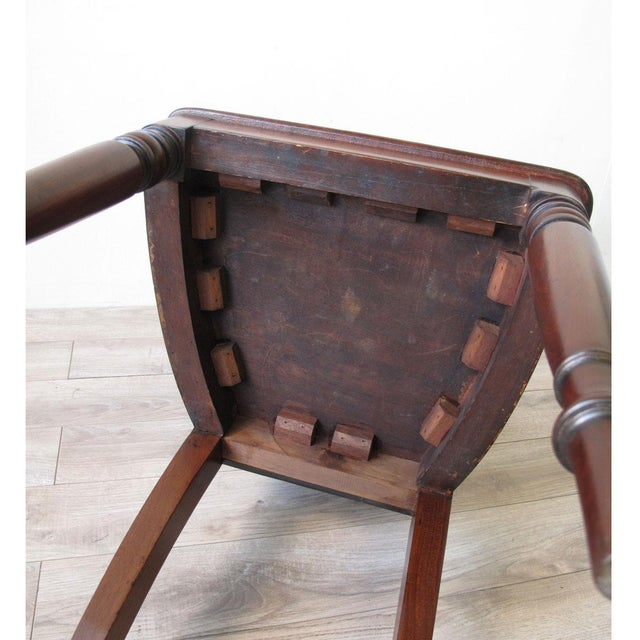 English Regency Mahogany Hall Chair For Sale In New York - Image 6 of 6