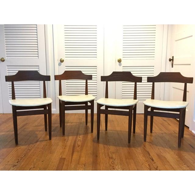 Vintage 1960s Hans Olsen for Frem Rojle Danish Modern Dining Chairs - Set of 4 For Sale - Image 12 of 12