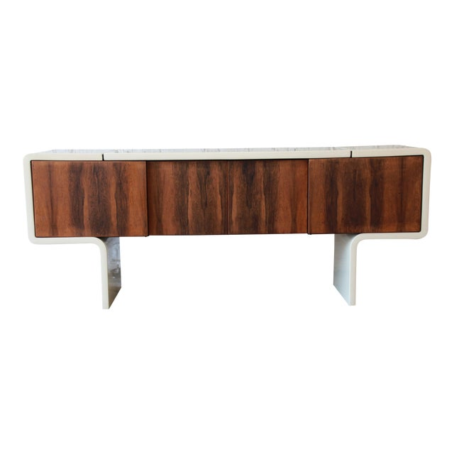 1970s Vintage William Sklaroff Mid-Century Modern Uniplane Credenza For Sale - Image 11 of 11