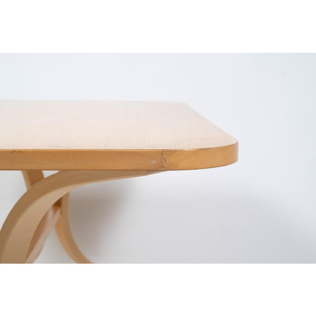 Asko Mid-Century Modern-Style Birch Coffee Table For Sale - Image 9 of 11