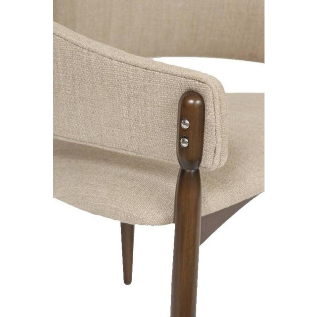 Mid-Century Modern Set of 16 Enroth Dining Chairs For Sale - Image 3 of 7