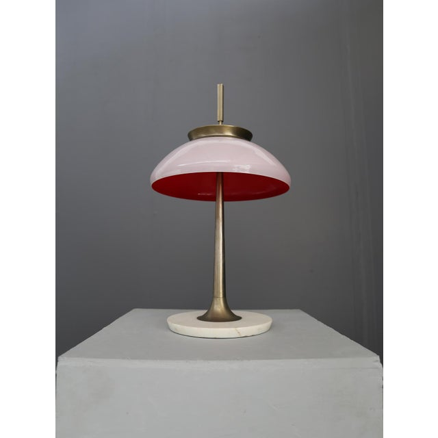 1950s Table Lamp Stilnovo Mod 8091 , Milan 1950. For Sale - Image 5 of 7