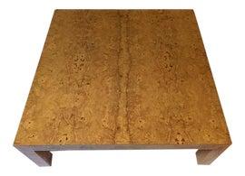 Image of Burlwood Coffee Tables