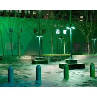 "Contemporary Night Photograph ""Repetition"" by John Vias For Sale"
