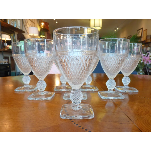 Pressed Glass Footed Goblets - Set of 8 - Image 2 of 8