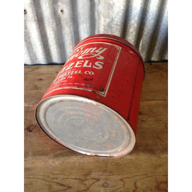 Vintage Eat Economy Pretzels Container - Image 6 of 8