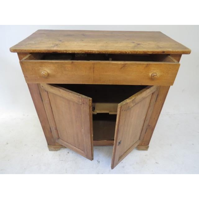 1920s Antique French Rustic Cabinet - Image 4 of 9