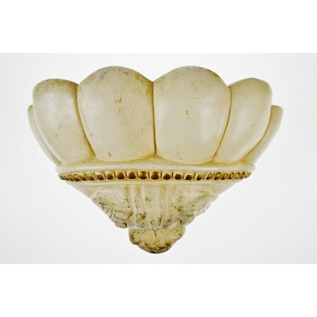 Vintage Ceramic Cherub Lavabo Wall Fountain Wall Pocket - Image 5 of 10