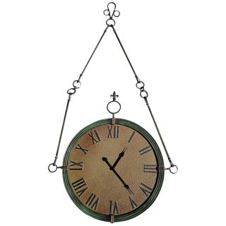 Large Manor Wall Clock For Sale