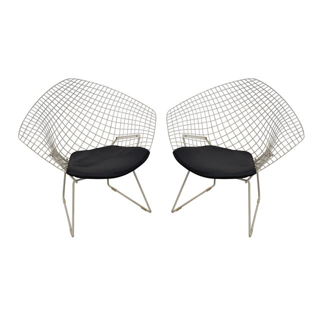 Harry Bertoia for Knoll Lounge Chairs - Pair - Image 1 of 10