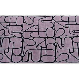 Art + Loom Squiggle Rug - 8′9″ × 14′11″ For Sale
