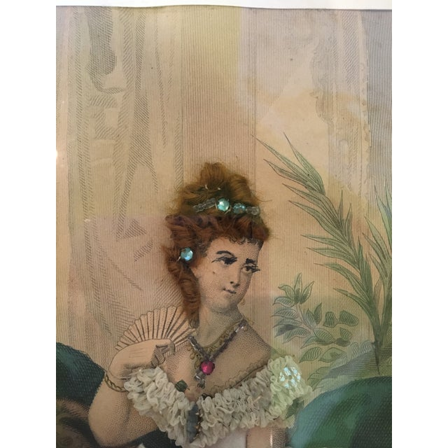 19th Century French Fashion Diorama For Sale In Charlotte - Image 6 of 8