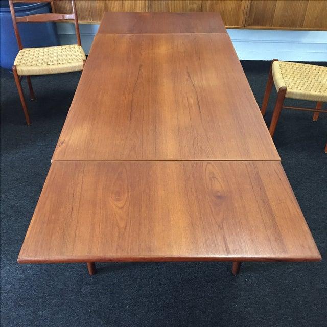 Danish Modern Teak Dining Set - Set of 6 - Image 3 of 11