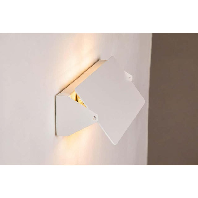 Large Charlotte Perriand 'Applique à Volet Pivotant Double' Wall Lights in White For Sale In Los Angeles - Image 6 of 13