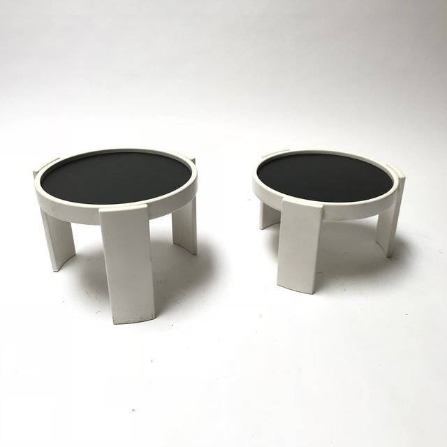 Cassina Stacking Side Tables For Sale - Image 9 of 9