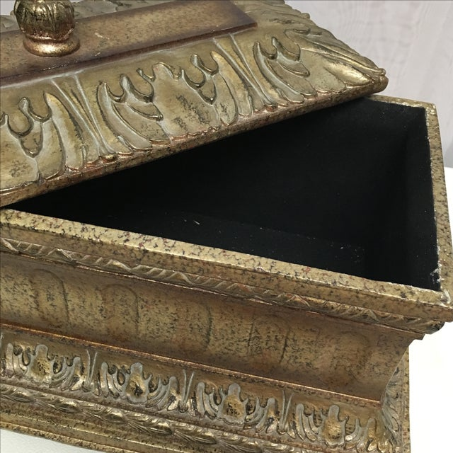 Decorative Box with Silver Accents - Image 4 of 5