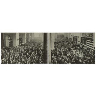 1915 World Expo Merchants Panoramic Prints - S/2 For Sale