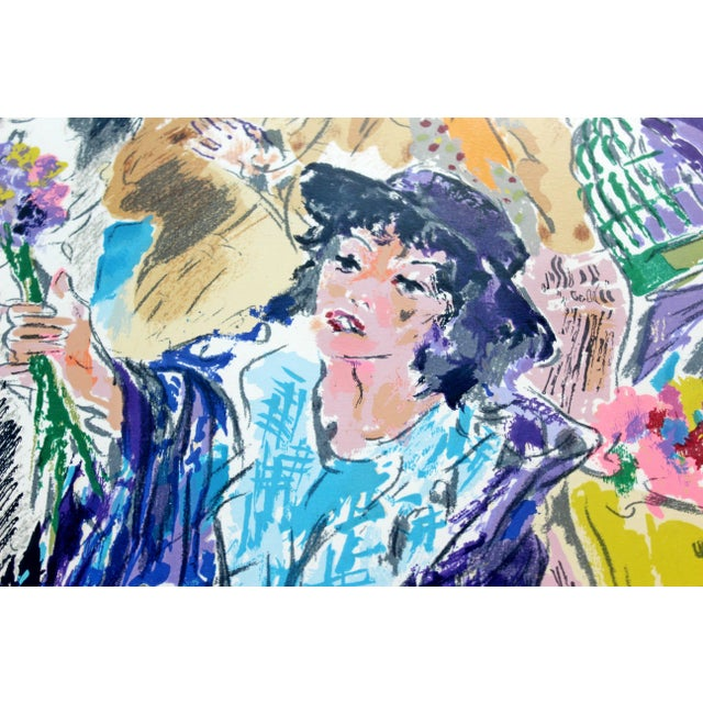 Mid-Century Modern Leroy Neiman Litho Signed Numbered 1/300 My Fair Lady Framed For Sale - Image 9 of 11