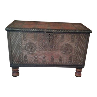 Antique Middle Eastern Chest For Sale