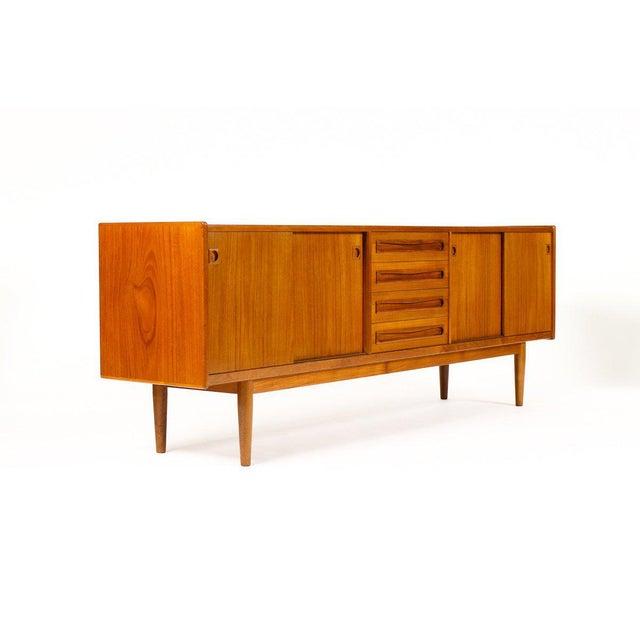 1960s Scandinavian Jens Ærthøj Teak Credenza/Sideboard For Sale - Image 11 of 11