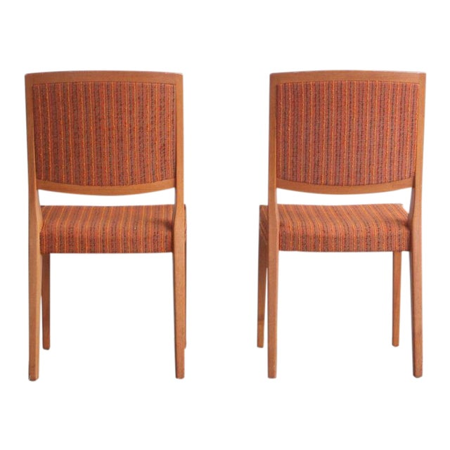 1960s Mid-Century Modern Teak Dining Chairs - Set of 8 For Sale
