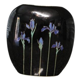 Oragiri Blue Iris Vase For Sale