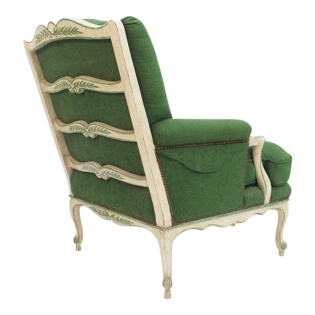 Ladder Back Bergere Armchair For Sale