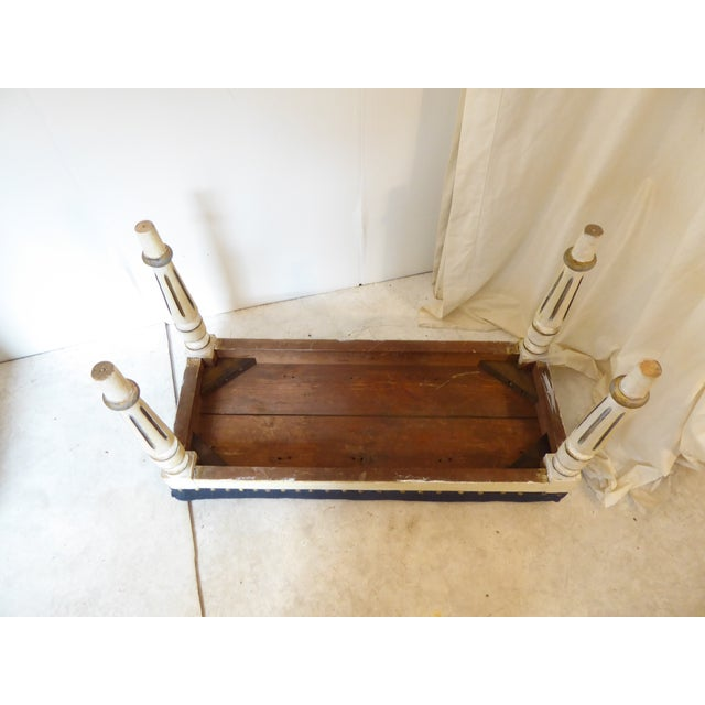 Late 19th Century 19th Century Swedish Bench For Sale - Image 5 of 6