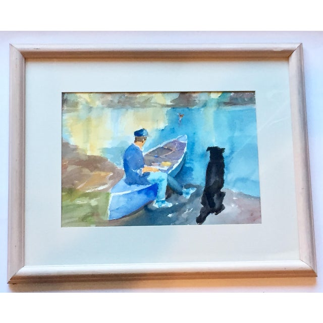 Contemporary Ralph C Lemmons Signed Water Painting - Image 2 of 6